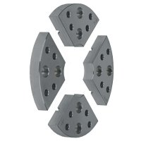 Axminster Wood Jaw Plates, Ø 100 mm