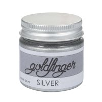 Goldfinger Metallic-Paste, silber