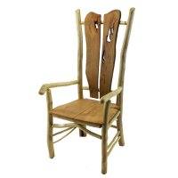 Rustic Wood Furniture with Characteristics of Solid Wood