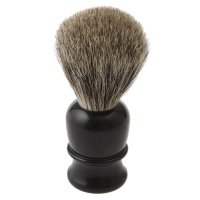 Shaving Brush Thiers-Issard, Badger Hair, Plastic Handle, Black