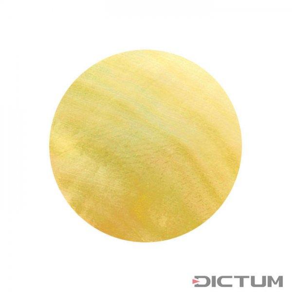 Masa perłowa, oczka, złote, Ø 5 mm