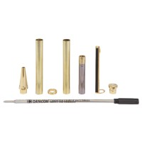 Ballpoint Pen Set Paris, Gold, 5-Piece Set