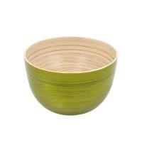 Bol en bambou moyen, vert