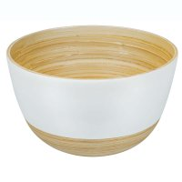 Bamboo Bowl BiMa, Large, White