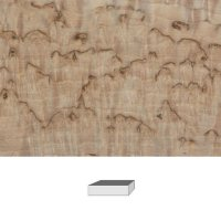 Masur Birch, 1. Quality, 120 x 40 x 30 mm