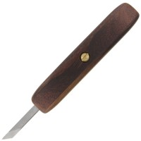 Pfeil Woodworking Knives, with Precious Wood Handle, Blade Width 6 mm