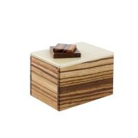 Puzzle Box Zebrawood, Dogwood