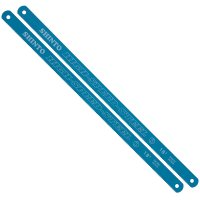Replacement Blades for Metal Coping Saw, Length 250 mm, 18 Teeth per Inch