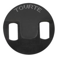 Rubber Mute Tourte, Round, Viola