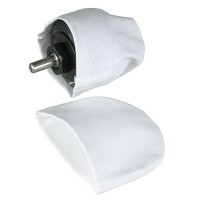 Polishing Cloth Sleeves for No. 140R, 2 Piece-Set, ball shaped Ø 42 x 35 mm