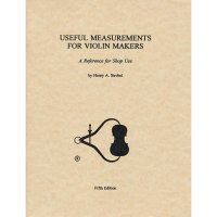 Useful Measurements for Violin Makers