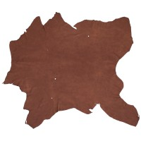 Elk Leather, Dark Brown, 15-16 sq. ft.