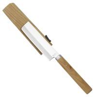 Couteau compact pour légumes, avec fourreau