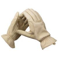 Elegant Gardening Gloves made of Cowhide, Size 10