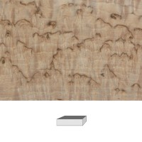 Masur Birch, 1. Quality, 120 x 40 x 30 mm
