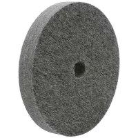 Felt Polishing Wheel, Mixed Wool Felt, Straight
