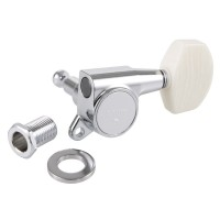 Gotoh Tuner Set, Model No. SG381-M01, Buttons Simulated Ivory