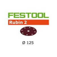 Festool Schleifscheiben STF D125/8 P80 RU2/10