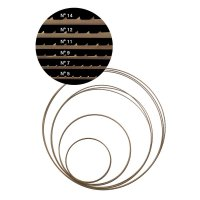 Pégas Fine-cutting Saw Blade No. 12, 2375 x 2 mm, Tooth Spacing 2,85 mm