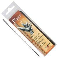 Lames de scie à chantourner Pégas Skip, largeur de lame 1,24 mm, 12 pièces