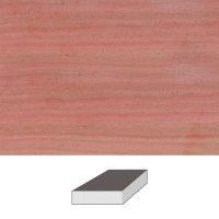 Pink Ivory, 125 x 125 x 50 mm
