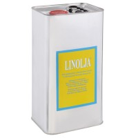 Linolja Organic Swedish Linseed Oil, Cold-Bleached, 5 l