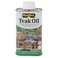 Rustins Teaköl, lebensmittelecht, 250 ml
