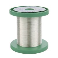 Sterling Silver Wire, 0.25 mm, 100 g