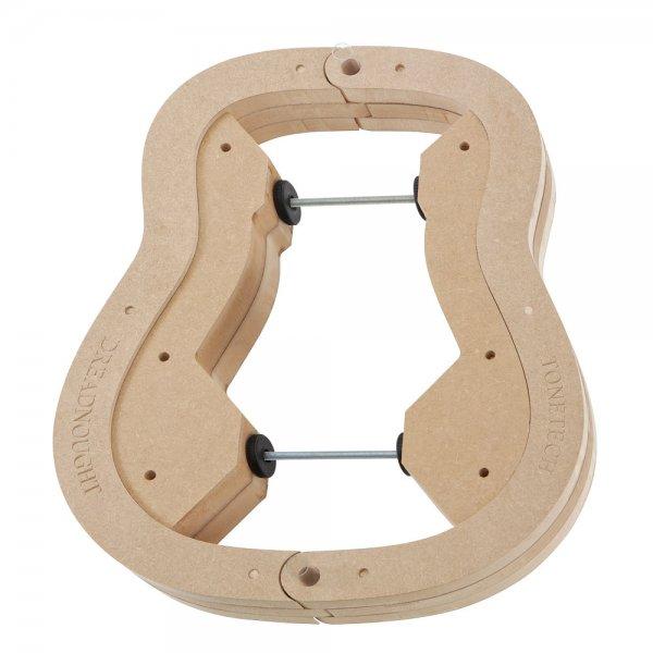 Formy do kształtowania boczków, gitara, OM