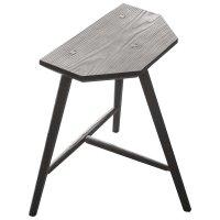 Staked Furniture - three-legged stool