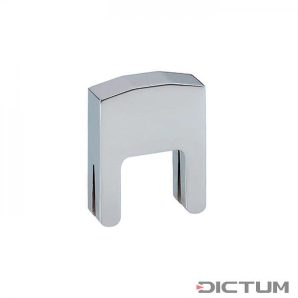 Metal Practice Mute, Chorme Plated, 2 Prong, Cello