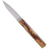 Le Francais Folding Knife, Serpent Wood