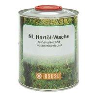 Cire à base d'huile dure ASUSO NL, hydrophobe, satiné brillant, 750 ml