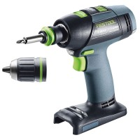Festool Perceuse-visseuse sans fil T 18+3 Li-Basic