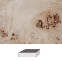 Grained Poplar, 150 x 60 x 60 mm