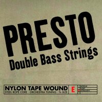 Presto Nylonwound Srings, Bass 3/4, Set