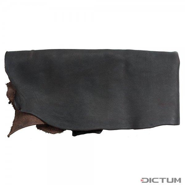 Nappa-Rindsleder, halbe Haut, dunkelbraun, 1,8-2,0 m²