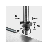 Festool Abrundfräser HW S8 R3 D22-KL OFK