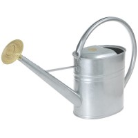 Slimcan Watering Can, 8 l, silver