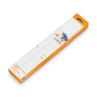 Glue Sticks White, 11 mm, 10-Piece Set