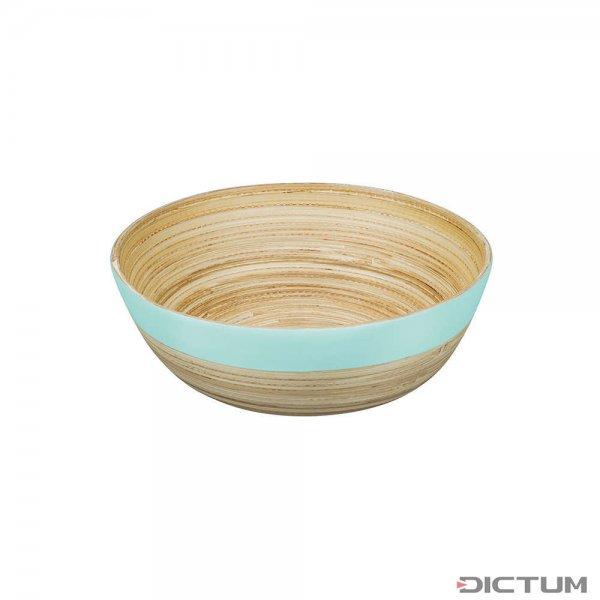 Ciotola di bambù BiMa, piccola, turchese pastello