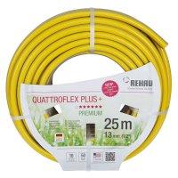 Rehau Gartenschlauch Quattroflex Plus +, ½ Inch, 25 m