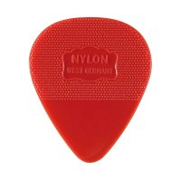 Herdim Nylon-Picks, Heart-Shaped, 100-Piece Set, Medium