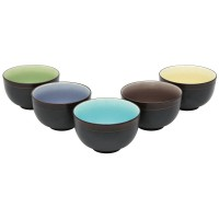 Sencha Tea Bowl Set, 5-Piece Set