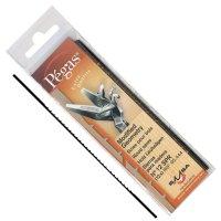 Lames de scie à chantourner Pégas MGT, largeur de lame 1,55 mm, 12 pièces
