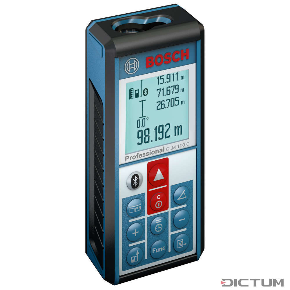 bosch laser-entfernungsmesser glm 100 c professional | messtechnik