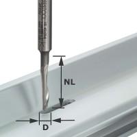 Festool Aluminum Cutter Shank 8 mm HS S8 D5/NL24