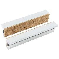 Mors magnétiques de protection York, 100 mm, aluminium à garniture de liège