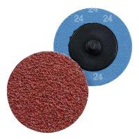 Tampons abrasifs avec fonction échange rapide pour Merlin2, grain 24