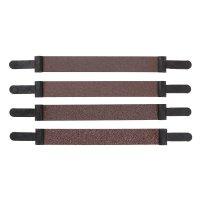 Pégas Abrasive Belts, Width 12 mm, 4-Piece Set, Grit 80